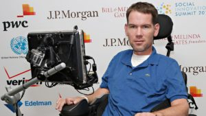 NATCHITOCHES – Steve Gleason, whose place in New Orleans Saints history is now secondary to the impact he is making on ALS research and in the lives of thousands of victims of the disease, is the 2018 winner of the Dave Dixon Louisiana Sports Leadership Award presented by the Louisiana Sports Hall of Fame.
