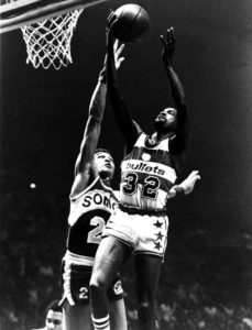 Larry Wright-NBA Action 1976