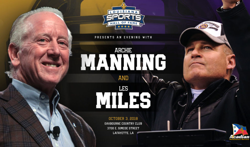 Video & Photos: An Evening with Archie Manning and Les Miles