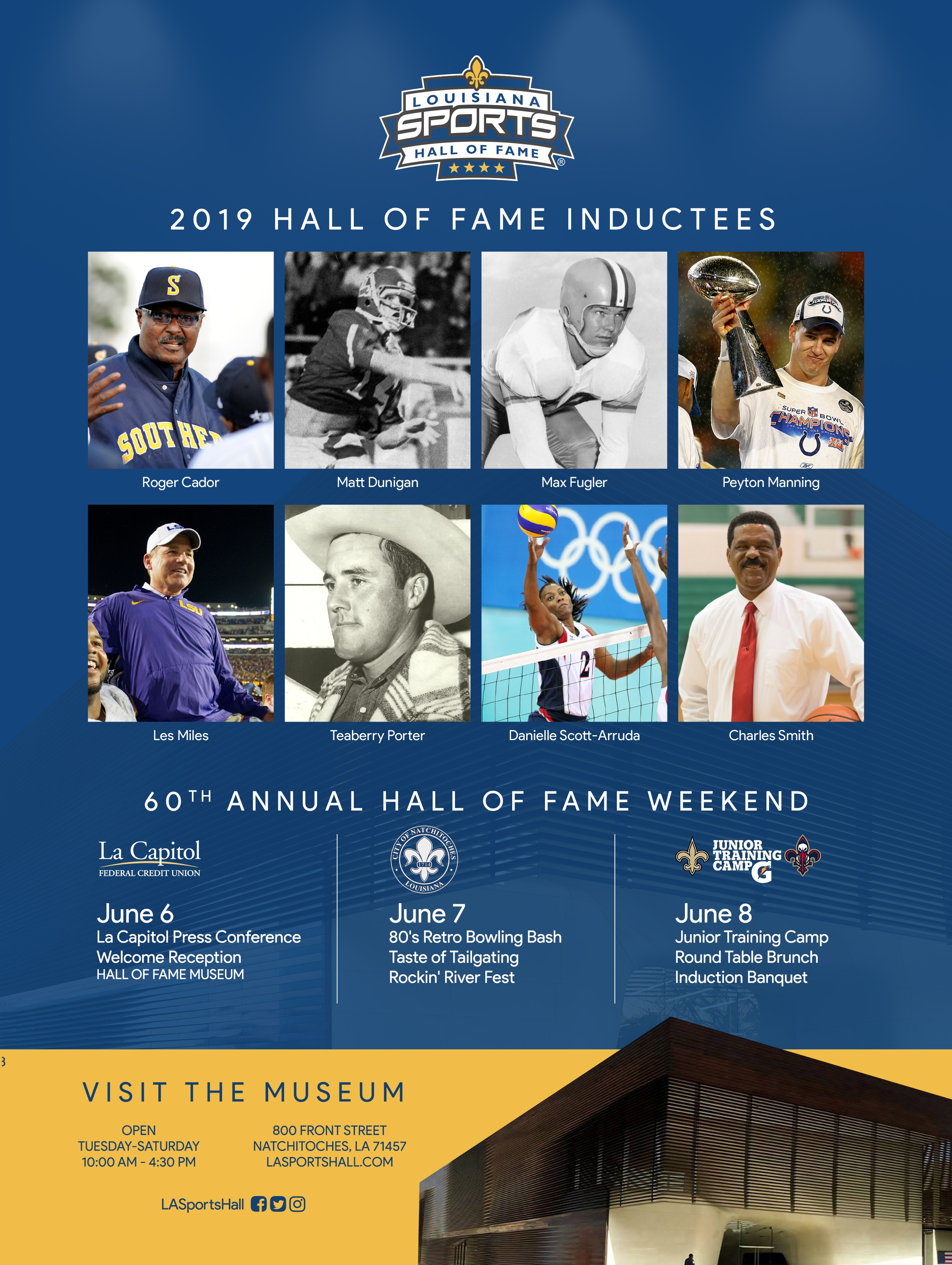2019 Induction Weekend Tickets